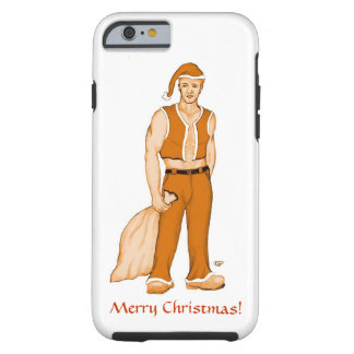 The new Santa Claus - Merry Christmas! Tough iPhone 6 Case
