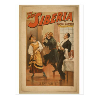 The New Siberia I ll Pay for it Retro Theater Post Card