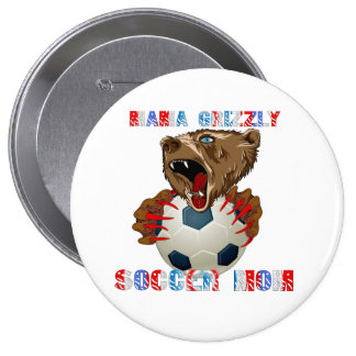 The-New-Soccer-MOM Pinback Button