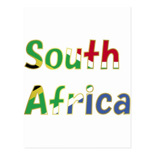 The New South Africa Postcard