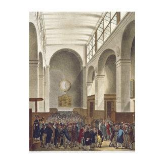 The New Stock Exchange, Bartholomew Lane Canvas Print