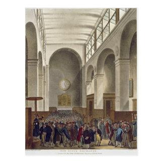 The New Stock Exchange, Bartholomew Lane Postcard
