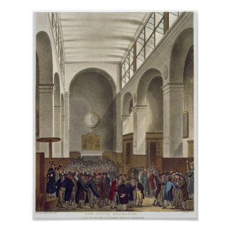 The New Stock Exchange, Bartholomew Lane Poster