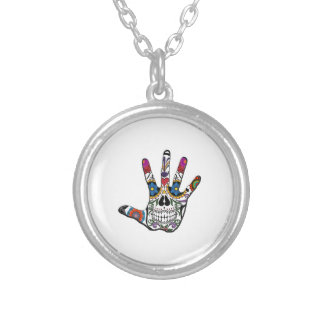 THE NEW TOUCH SILVER PLATED NECKLACE