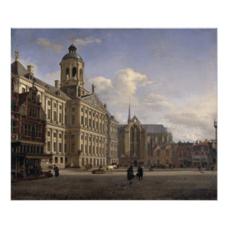 The New Town Hall, Amsterdam, 1668 Poster