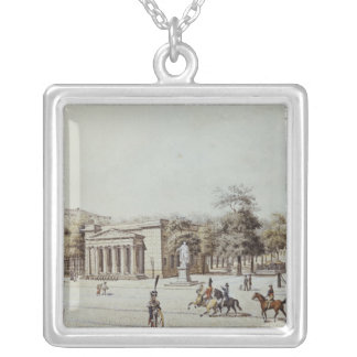 The new Watch House, next to the Armoury, Berlin Square Pendant Necklace