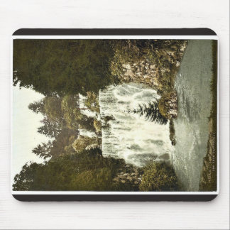 The New Waterfall, Wilhelmshohe, Cassel (i.e., Kas Mouse Pads