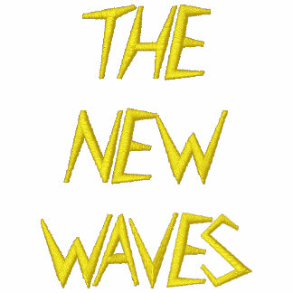 THE NEW WAVES STICHED TEE