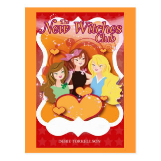 The New Witches Club Post Cards