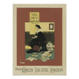 The New Woman Comedy Theatre London Poster