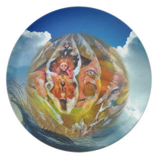 The New World Collectable Art Plate
