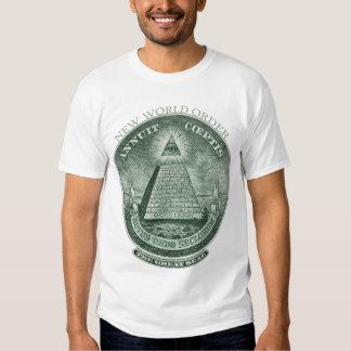 The New World Order Annuit Coeptis T-Shirt