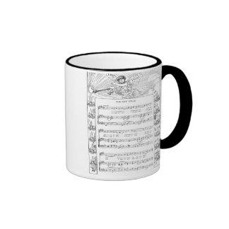 The New Year Song and Music Coffee Mug