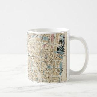 The New York Academy of Medicine - Manhattan Map Coffee Mug