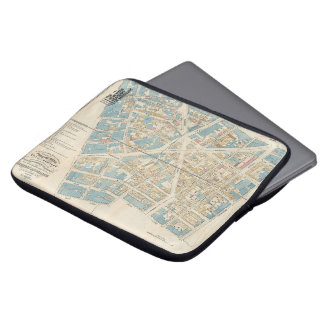 The New York Academy of Medicine - Manhattan Map Computer Sleeve