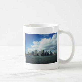 The New York City Skyline, A River View Coffee Mug