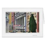 The New York Stock Exchange Bldg Greeting Card