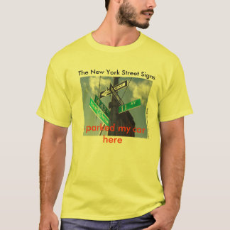 The New York Street Signs T-Shirt