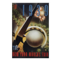 The New York World's Fair 1939 Poster