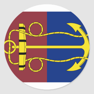 the New Zealand Navy Board, New Zealand Round Stickers