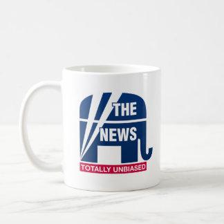 The News:  Totally Unbiased Coffee Mug