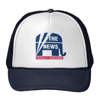 The News:  Totally Unbiased Trucker Hat