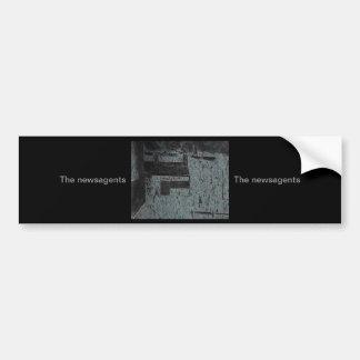 (The newsagents) Car Bumper Sticker