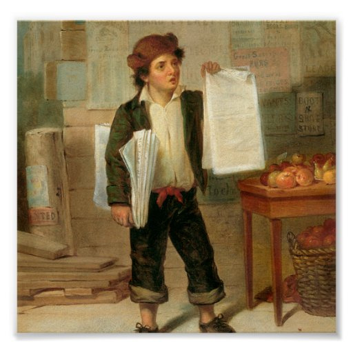 The Newsboy Poster