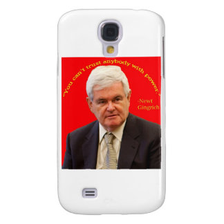 The Newt_Gingrich Riddle Samsung Galaxy S4 Cases