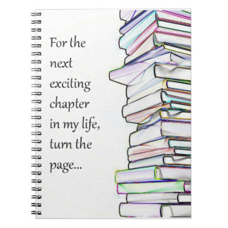 The Next Exciting Chapter Notepad Notebook