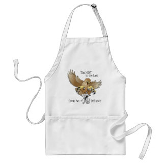 The Next to the Last Act of Defiance Adult Apron