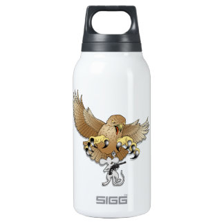 The Next to the Last Act of Defiance (no text) Thermos Water Bottle