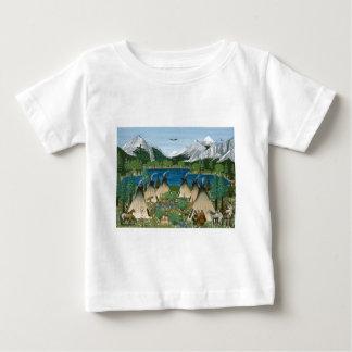 The Nez Perce ~ Wallowa Lake Baby T-Shirt