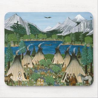 The Nez Perce ~ Wallowa Lake Mousepads