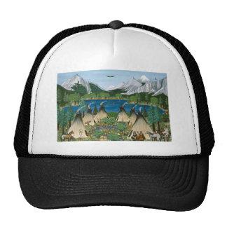 The Nez Perce ~ Wallowa Lake Trucker Hat