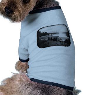 The Niagara Falls ~ 1853 Doggie T-shirt