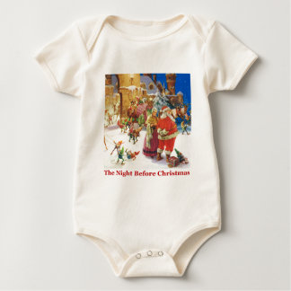 The Night Before Christmas at the North Pole Romper