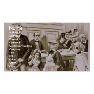 The Night before Christmas Double-Sided Standard Business Cards (Pack Of 100)