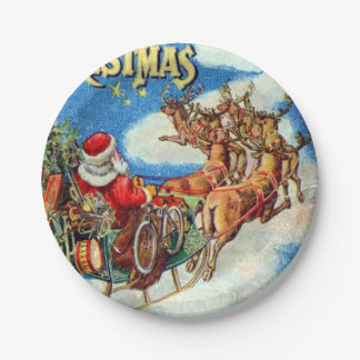 The Night Before Christmas Paper Plate
