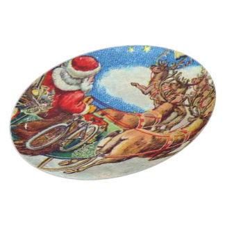 The Night Before Christmas Plate