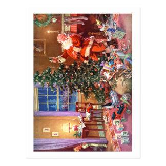 THE NIGHT BEFORE CHRISTMAS POSTCARD