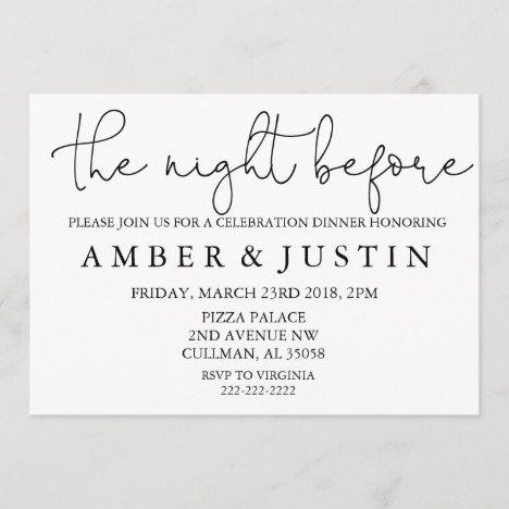 | Invitation