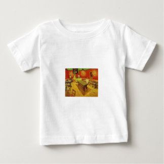 The Night Cafe by Vincent Van Gogh Baby T-Shirt