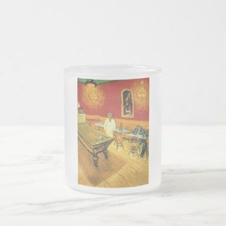 The Night Cafe by Vincent Van Gogh Frosted Glass Coffee Mug