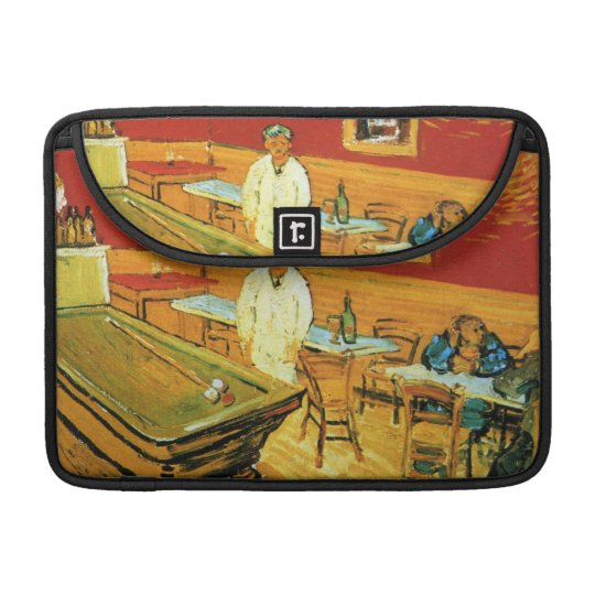 The Night Cafe by Vincent Van Gogh MacBook Pro Sleeve