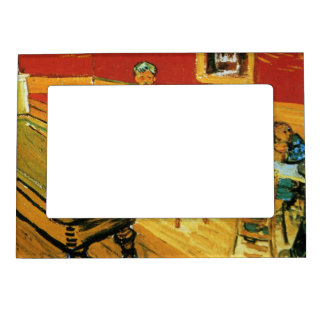 The Night Cafe by Vincent Van Gogh Magnetic Photo Frame