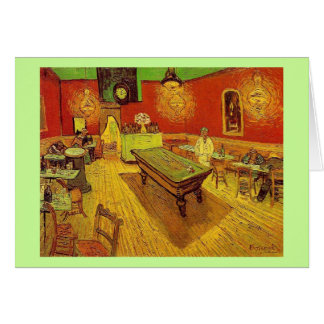 The Night Cafe by Vincent Van Gogh Stationery Note Card