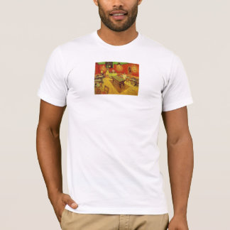 The Night Cafe by Vincent Van Gogh T-Shirt
