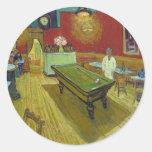 The Night Cafe - Van Gogh Round Sticker