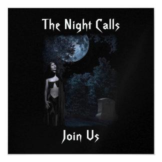 The Night Calls Invitation